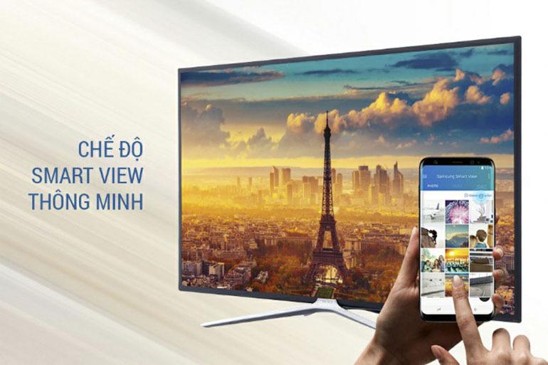 """Khám phá tính năng """"điều khiển"""" thông minh qua công nghệ Smart View trên Smart tivi Samsung"""