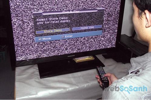 Khi lắp đặt xong tivi bạn cần dò kênh sóng truyền hình