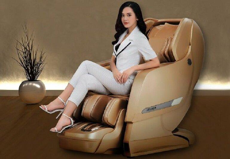 Thương hiệu ghế massage Okia của Malaysia
