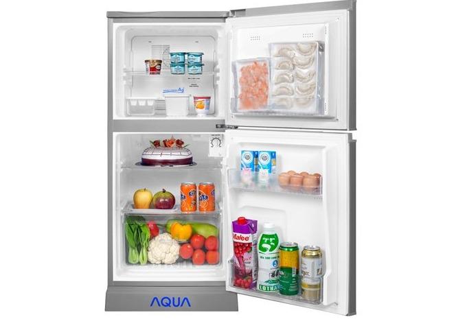 Tủ lạnh AQUA AQR-125BN(SS) 123 Lít