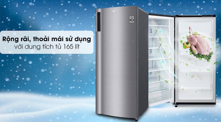 Tủ cấp đông đứng LG Inverter 165 lít GN-F304PS