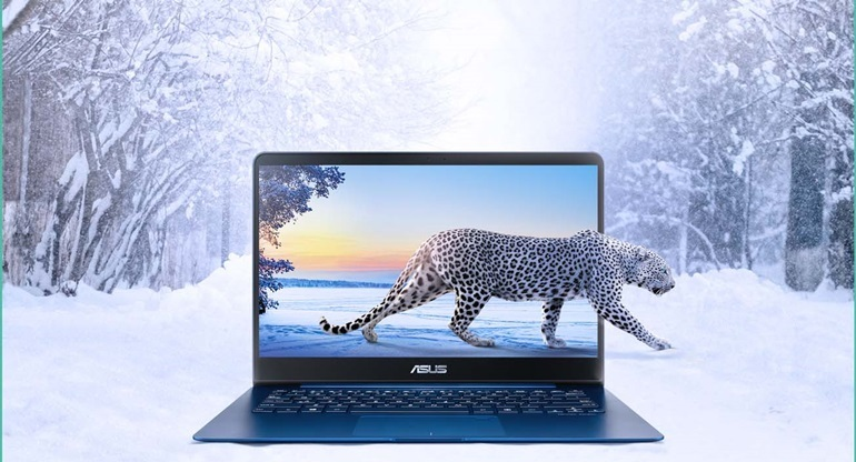 laptop mỏng nhẹ sử dụng chip intel thế hệ 8
