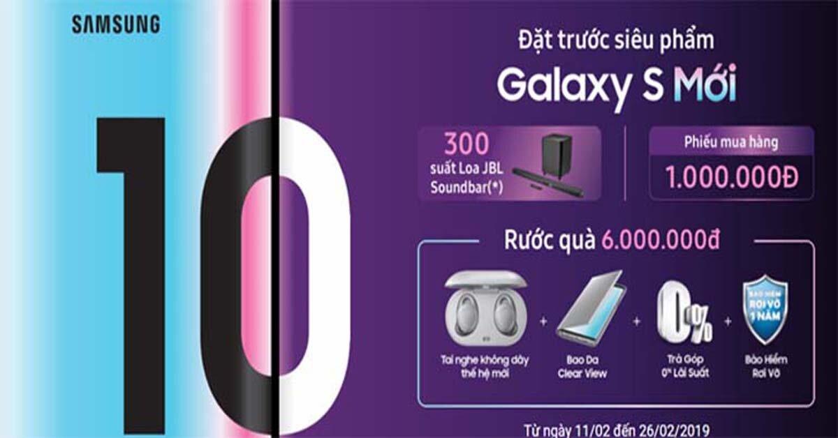 Galaxy S10e – siêu phẩm giá rẻ trong gia đình Samsung Galaxy S10