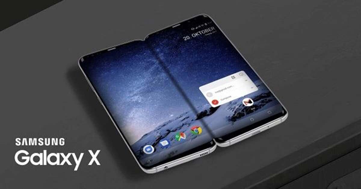 Galaxy X – smartphone có thể gập của Samsung lộ diện thiết kế gây thất vọng