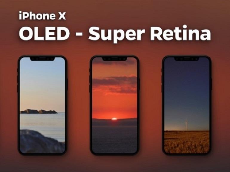 màn hình OLED trên smartphone