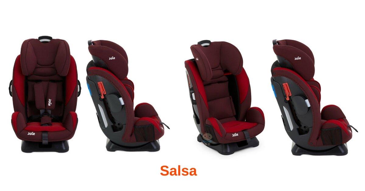 Ghế ngồi ô tô cho trẻ em Joie Every Stage Salsa có an toàn không? Mua ở đâu uy tín?