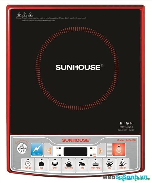 Giá bếp từ đơn Sunhouse mới nhất bao nhiêu tiền tháng 11/2017