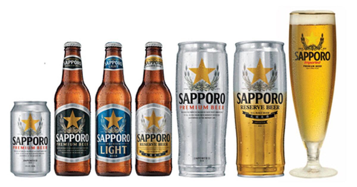 Giá bia Sapporo bao nhiêu tiền Tết Nguyên Đán 2018? Mua ở đâu giá rẻ?