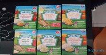 Giá bột ăn dặm Heinz cho bé tháng 4/2019