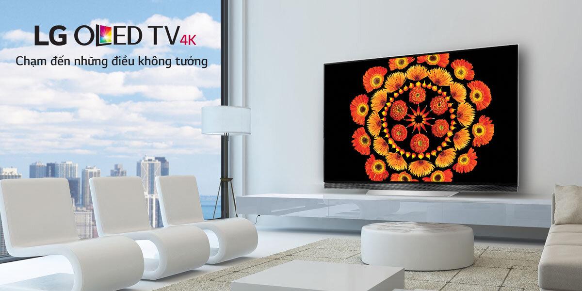 Giá các dòng tivi LG OLED mới nhất trên thị trường năm 2018