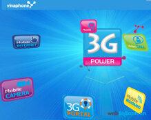 Giá các gói cước truy cập internet 3G của Vinaphone
