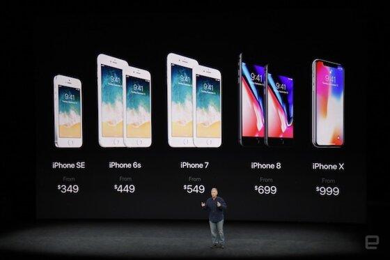 Giá điện thoại iPhone X, iPhone 8 và iPhone 8 Plus bao nhiêu tiền tại Việt Nam?