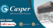 Giá điều hoà Casper Thái Lan cập nhập mới nhất tháng 6/2019 bao nhiêu tiền ?