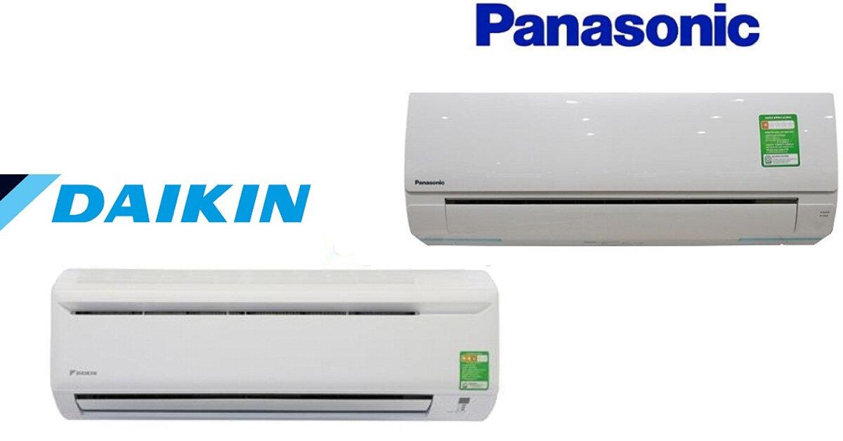 Giá điều hòa Panasonic hay máy lạnh Daikin rẻ hơn?