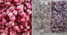 Giá hành lá, hành khô, hành tím các loại ăn Tết bao nhiêu tiền ?