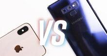 """Giá iPhone Xs Max cao """"chót vót"""" có đáng mua hơn so với điện thoại Samsung Galaxy Note 9"""