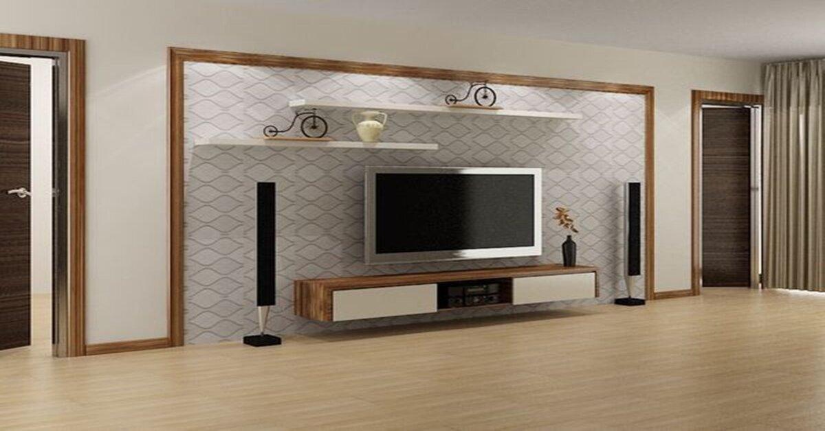 Giá kệ tivi gỗ treo tường bao nhiêu tiền ?