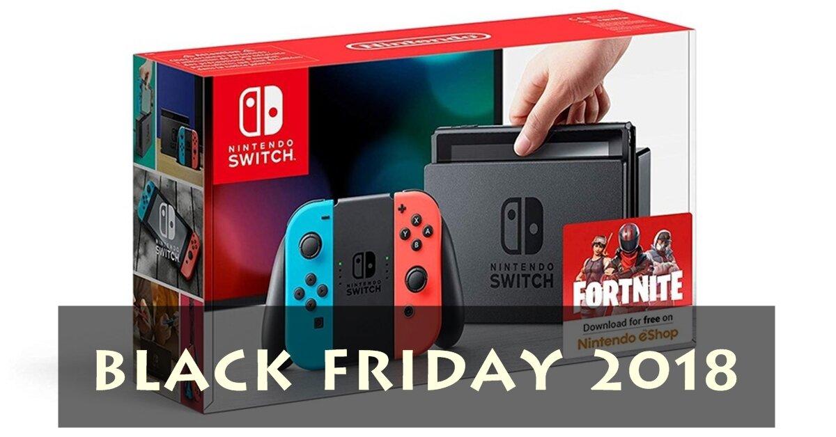 Giá máy chơi game Nintendo Switch trong ngày Black Friday 2018 là bao nhiêu?