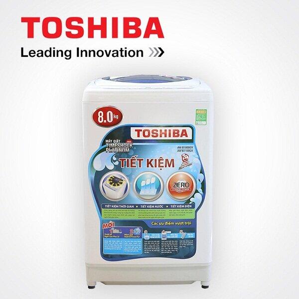 Giá máy giặt 8kg lồng đứng Toshiba bao nhiêu tiền tháng 1/2018