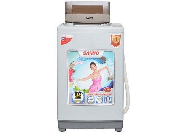Giá máy giặt Sanyo 8kg rẻ nhất tháng 1/2018