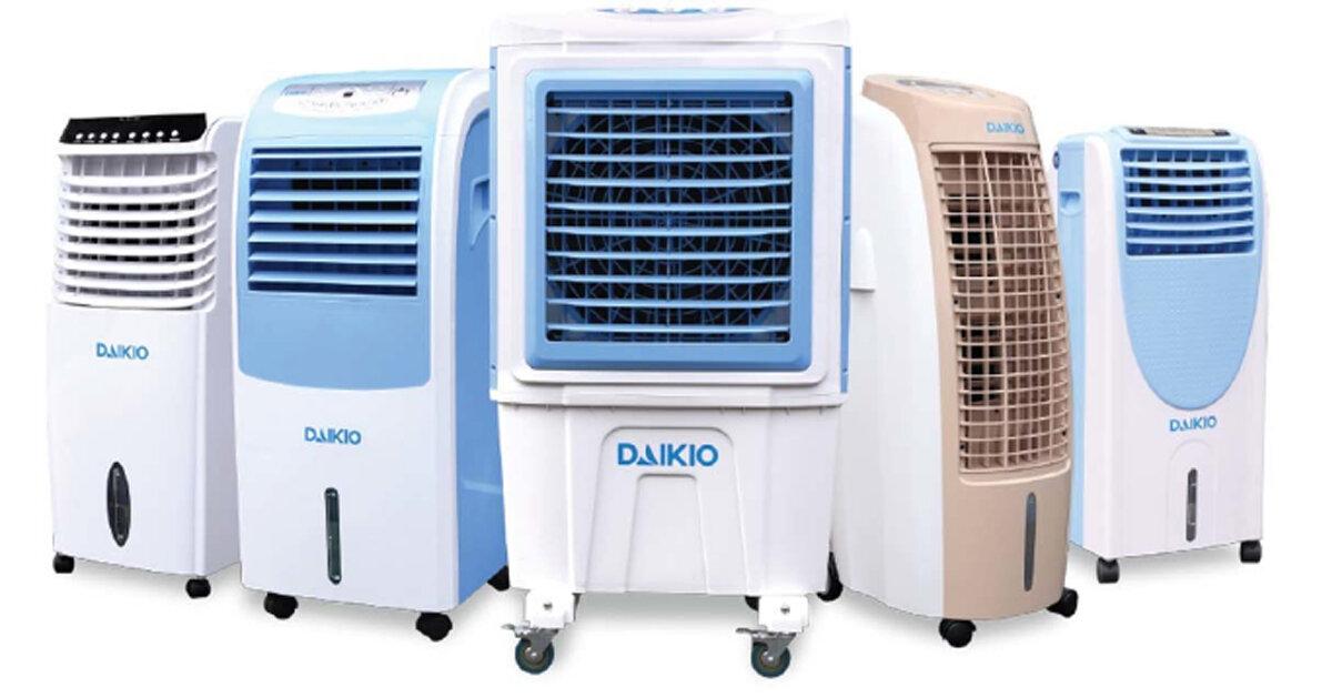 Giá quạt điều hòa – máy làm mát Daikio bao nhiêu tiền năm 2019 ?