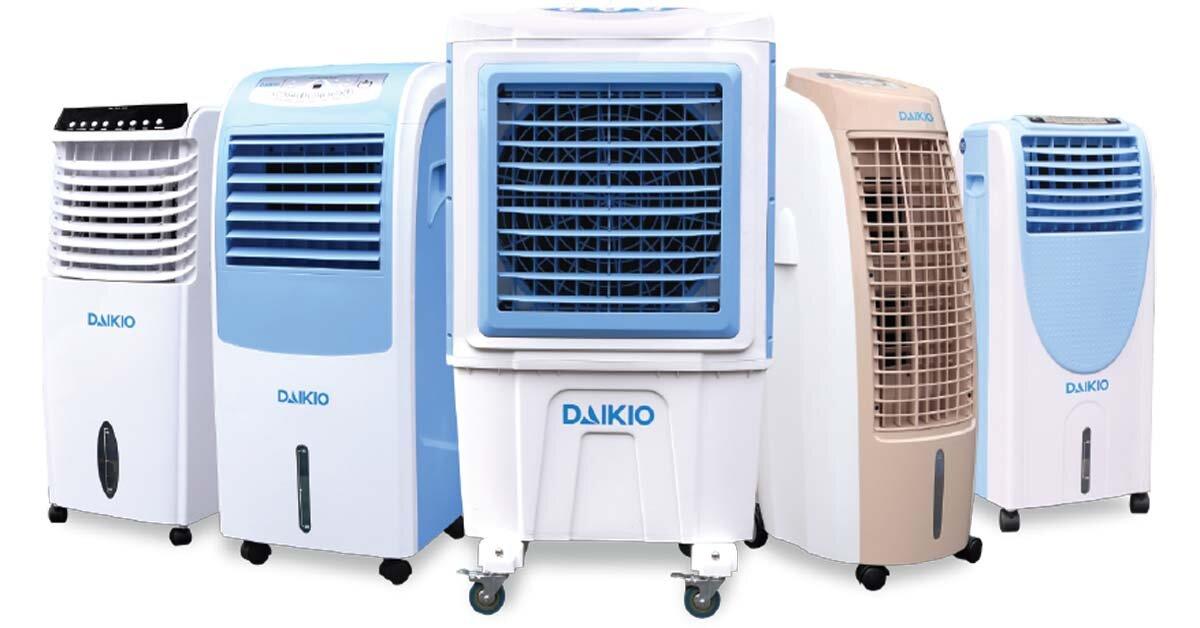 Giá quạt điều hòa – máy làm mát Daikio bao nhiêu tiền năm 2018?