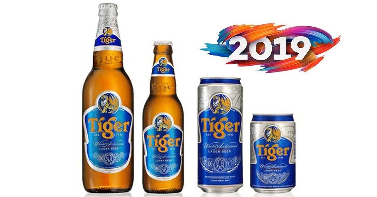 Giá sỉ, lẻ bia Tiger Tết Kỷ Hợi 2019 bao nhiêu tiền?