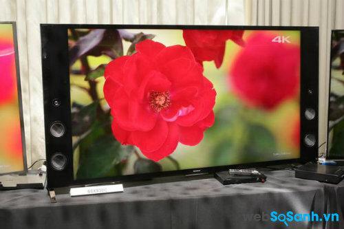 Giá Sony TV  4K và Android phát hành trong năm 2015