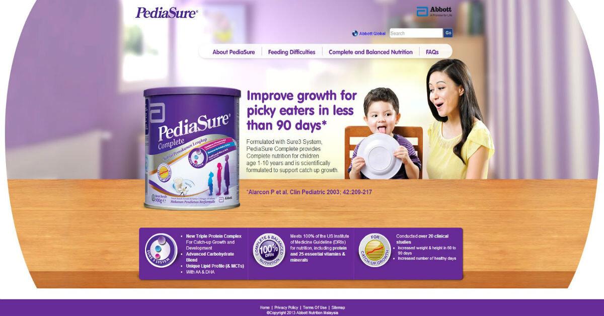 Giá sữa Abbott Pediasure cho bé biếng ăn, nhẹ cân mới nhất trong tháng 11/2017
