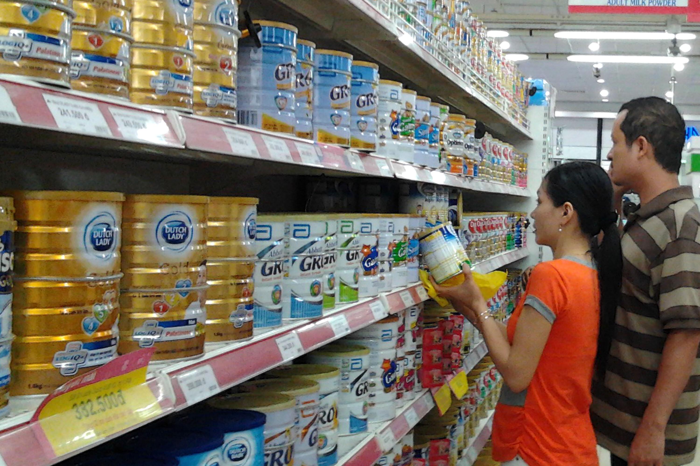 Giá sữa bột Abbott Grow tháng 8 có sự tăng mạnh