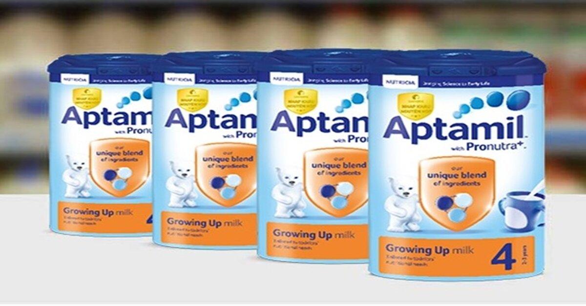 Giá sữa bột Aptamil cập nhật tháng 6/2018