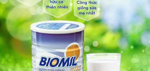 Giá sữa bột Biomil cập nhật mới nhất trong tháng 1/2018