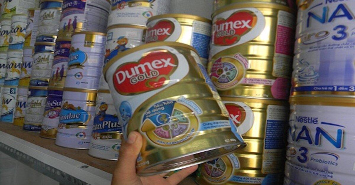 Giá sữa bột Dumex bao nhiêu tiền trong tháng 7/2018 ?