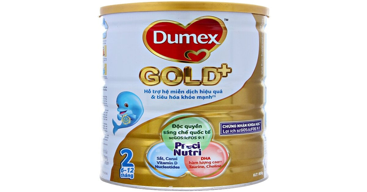 Giá sữa bột Dumex mới nhất cập nhật tháng 6/2018