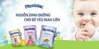 Giá sữa bột Physiolac trong tháng 5/2017 là bao nhiêu?