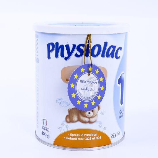 Giá sữa bột Physiolac trong tháng 9/2017 là bao nhiêu ?