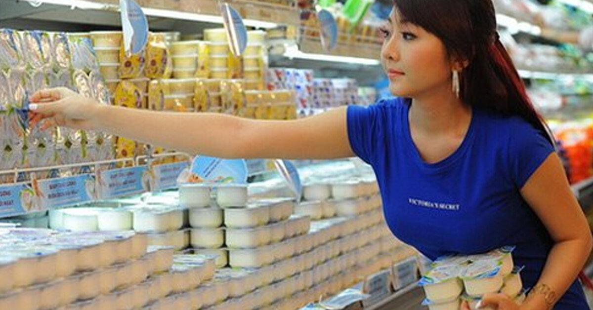 Giá sữa chua các loại các thương hiệu mới nhất trên thị trường bao nhiêu tiền ?