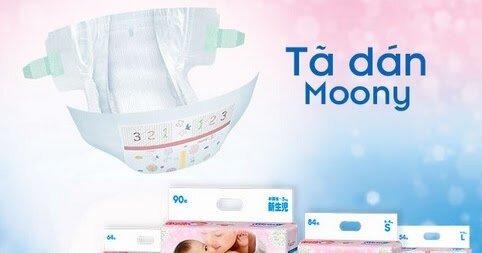 Giá tã dán Moony mới nhất là bao nhiêu tiền?