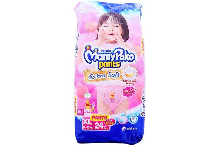 Giá tã quần Mamypoko mới nhất là bao nhiêu tiền?