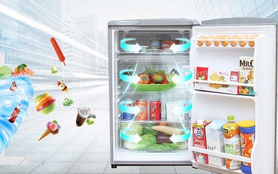 Giá tủ lạnh Sanyo 2 cánh cho người độc thân và vợ chồng trẻ