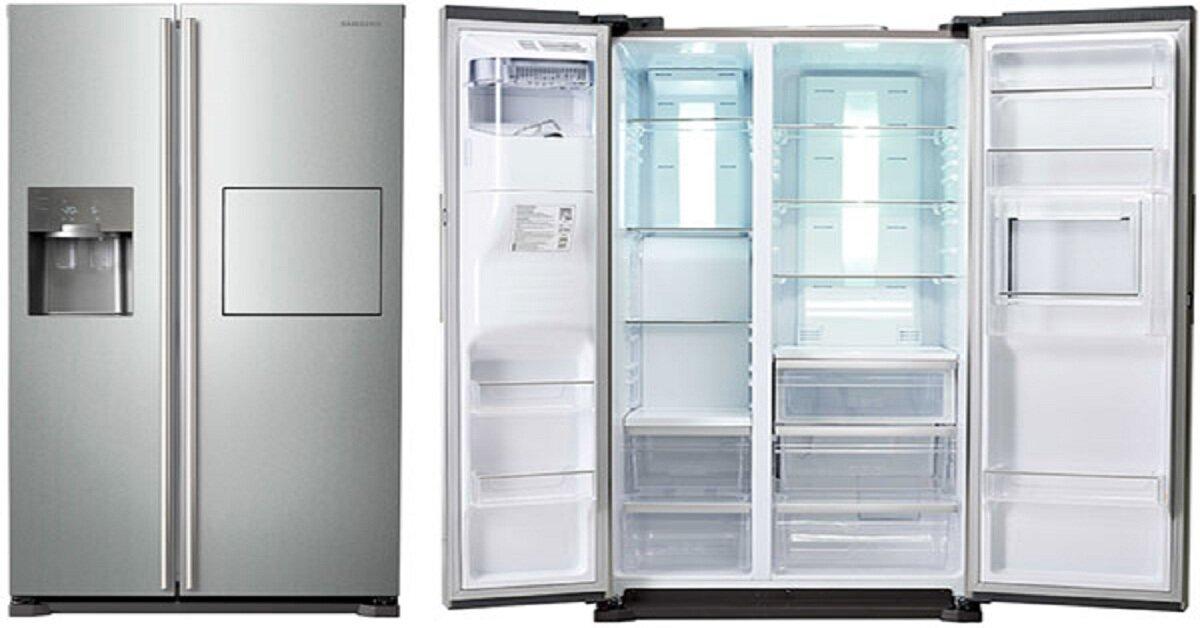 Giá tủ lạnh side by side dung tích lớn thương hiệu Toshiba dịp Tết 2019