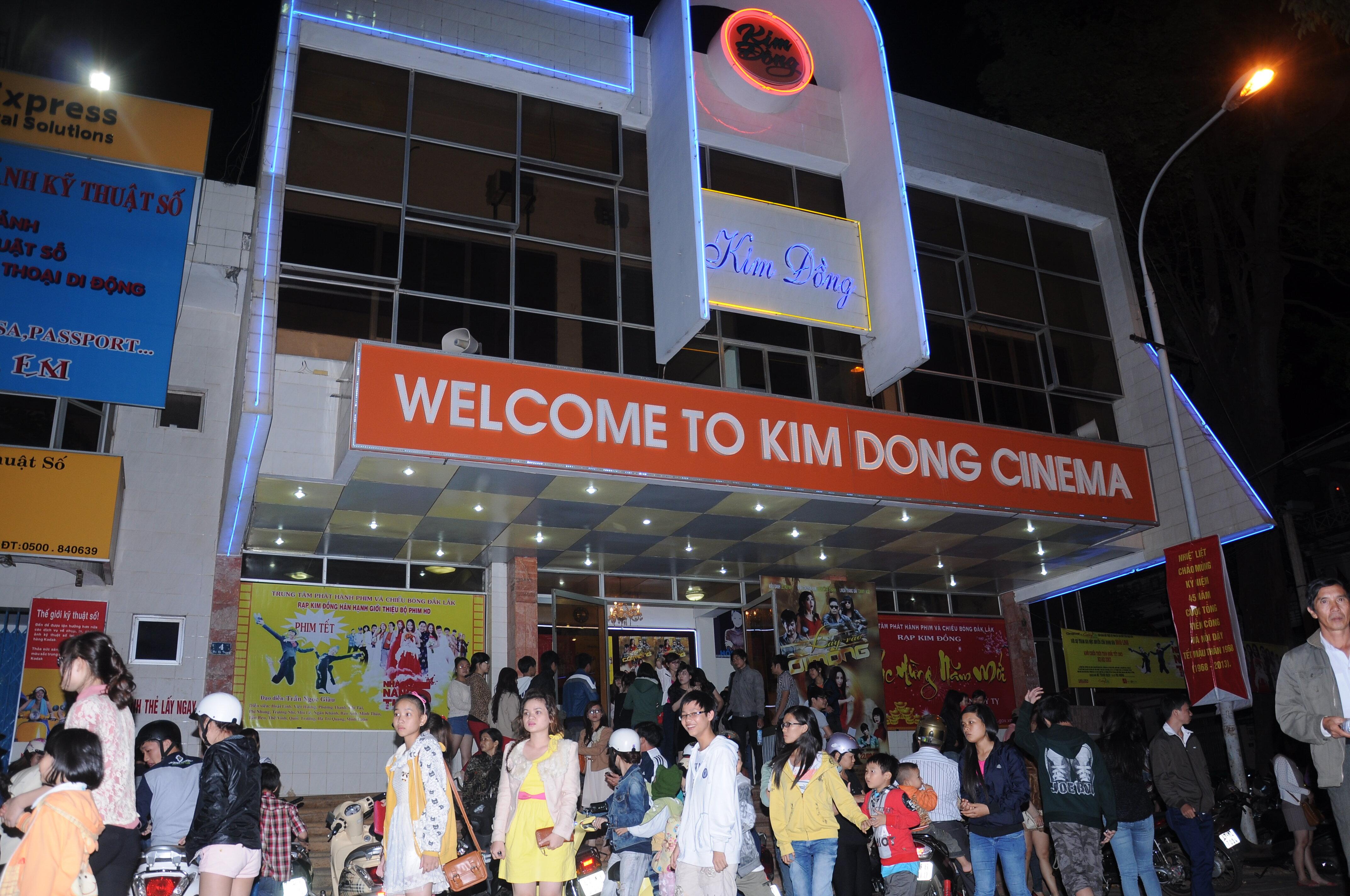 Giá vé xem phim rạp Kim Đồng năm 2016