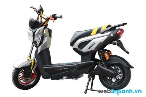 Giá xe đạp điện Zoomer chính hãng cập nhật thị trường năm 2017
