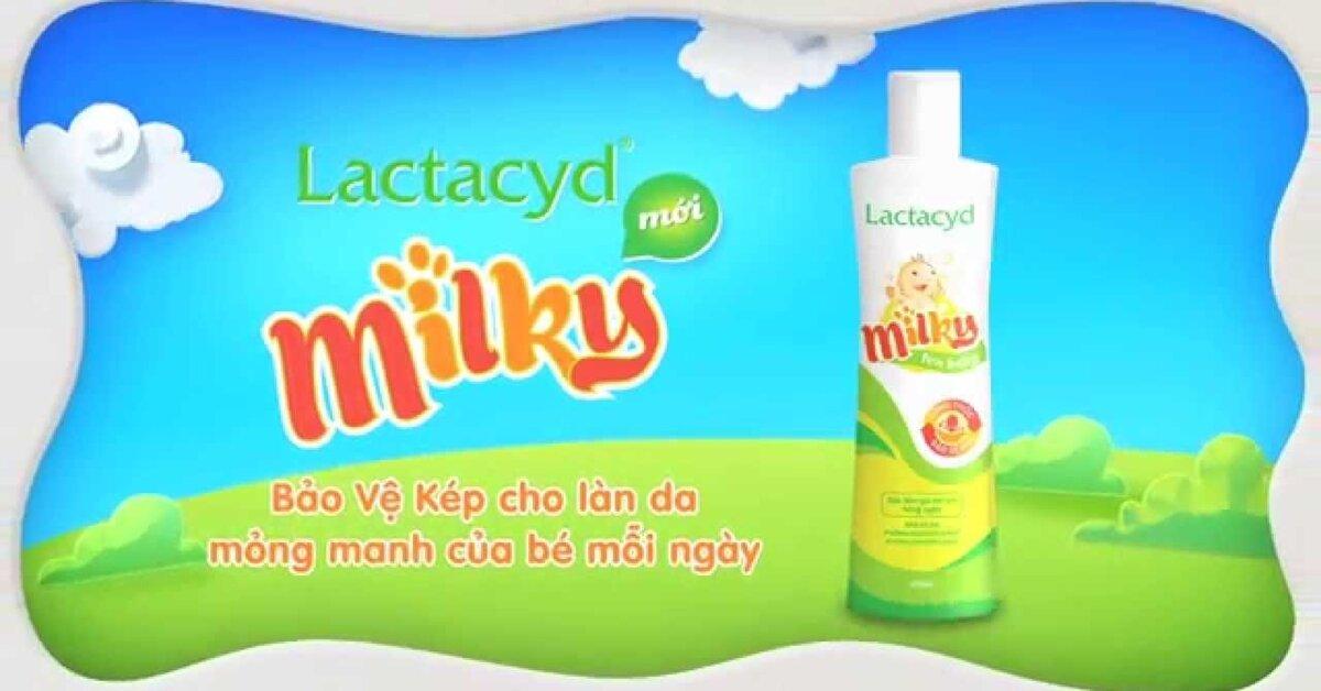 Giải đáp thắc mắc sữa tắm Lactacyd Milky có gội đầu được không