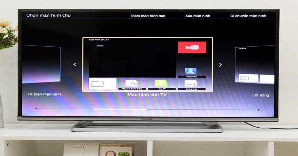 Giao diện My Home Screen trên Smart tivi Panasonic có gì đặc biệt ?