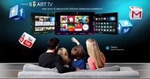 Giao diện Smart Hub của smart tivi Samsung