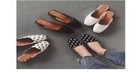 Giày mũi vuông: Đôi giày hot nhất mùa hè này