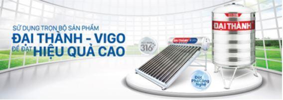 Nhà máy Tân Á Đại Thành chuyên cung ứng máy nước nóng năng lượng mặt trời từ 130L - 360L, bồn nước nhựa & inox từ 310L - 30.000L Chất lượng - Uy tín - Giá tốt