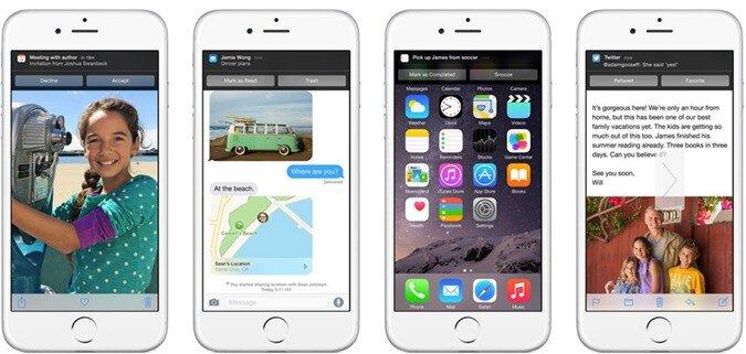 Giới thiệu 14 tính năng nổi trội của hệ điều hành iOS 8