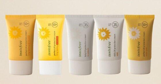 Giới thiệu 3 dòng kem chống nắng innisfree cho da dầu mụn